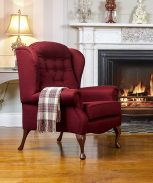 Lincoln Fireside High Seat Chair