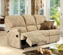 napoli large three seater recliner sofa